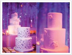 Silver painted wedding cake! Modern Luxe La Jolla  Wedding by Alchemy Fine Events: The ultimate dessert bar! part 3 ultim dessert, wedding cakes, dessert bars, cakey inspir