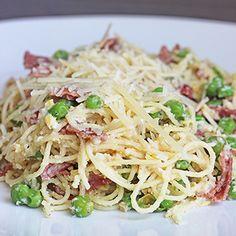 Skinny Pasta Carbona