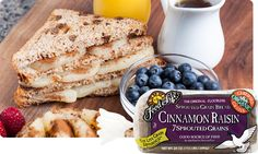 7 Sprouted Grains Cinnamon Raisin Bread | Food For Life