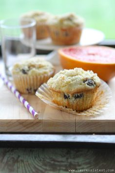 Gluten Free Blueberry Muffins - can use less sugar and more blueberries, very tasty