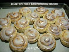 Gluten Free Cinnamon Rolls Recipe  http://www.stockpilingmoms.com/2012/08/gluten-free-cinnamon-rolls/