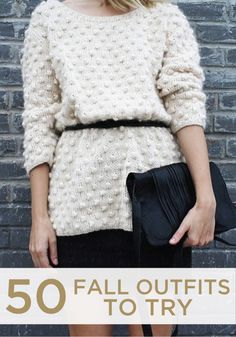Whether you love fall fashion or not, these outfits are amazing! Look through all 50!