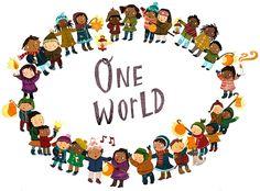 multicultur educ, kid idea, inspir, vreedzam school, kids, illustr preschool, quot