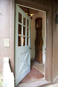Front Door - barn style