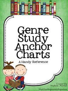 Genre Study Anchor Charts