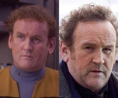 Then and Now #startrek #startrekthenextgeneration #tng #ussenterprised #1701D #obrien