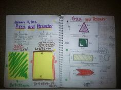 Problem Solving Journal- Area and Perimeter
