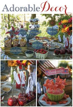 Linen, Lace, & Love: 4th of July Party Inspiration