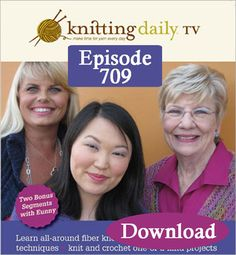 Knitting Daily TV, Episode 709 – Color Play (Download) - Interweave