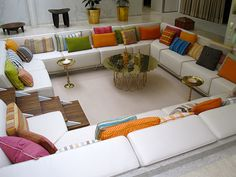 conversation pit- LOVE this!
