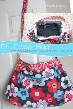 sew, diaper bag pattern, craft, pocket, diaper bags