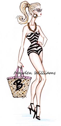 Vintage Barbie By Hayden Williams