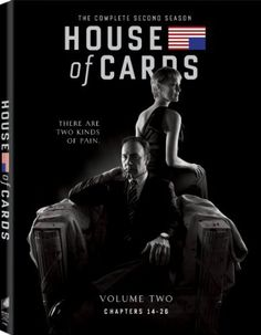 HOUSE OF CARDS SEASON 2.  http://highlandpark.bibliocommons.com/search?utf8=%E2%9C%93t=smartsearch_category=keywordq=house+cards+secondcommit=Search