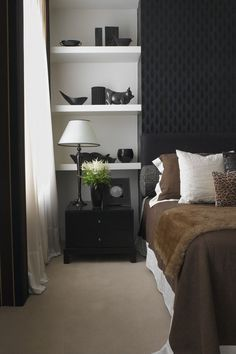 Modern Bedroom Photo - | http://apartmentdesigncollections.blogspot.com