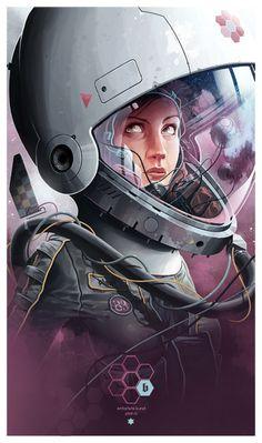 Astronauts byDerek Stenning