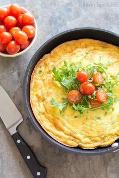 Easy Red Potato Cheddar Frittata Recipe @Shonda Chadwick Spatulas ...
