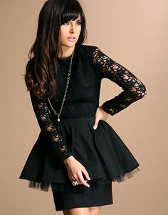 wedding dressses, fashion, lace wedding dresses, showroom, mini dresses, minis, black, lace dresses, peplum dresses