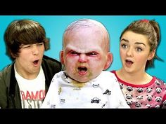Finebros:Teens react to Devil Baby Attack