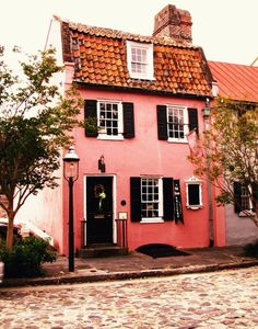 cottag, little houses, charleston sc, color, dream homes, pink houses, place, dream houses, charleston south carolina