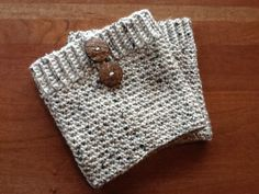 Women's Crochet Boot Cuffs with Buttons READY by LeahBasseDesigns, $25.00