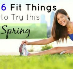 6 Fun Fitness Finds to Inspire Your Spring Workouts | via @SparkPeople #exercise #motivation