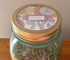 Cute Jar Labels