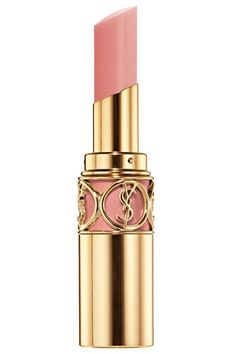 One of the 12 Best Nude Lipsticks - Yves Saint Laurent Rouge Volupté lipstick in Nude Beige ♥