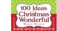 Christmas crafts galore.