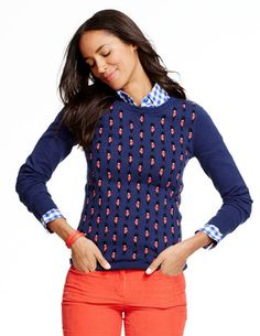I know it's still #summer, but I'm dreaming of autumn thanks to this Boden jumper