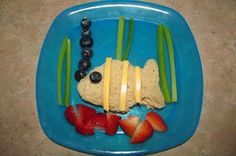 F is for fish - Fun lunch idea