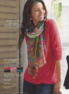 #Scarf #Tying ~ #fashion #style viz @Polarbelle