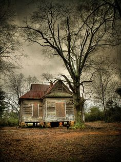 An African American schoolhouse, probably gone by now.