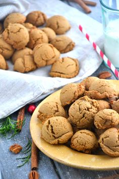 Gluten-Free, Dairy-Free Gingerbread Cookies via @Matt Valk Chuah Healthy Apple http://thehealthyapple.com/2012/11/30/gluten-free-gingerbread-cookies/#