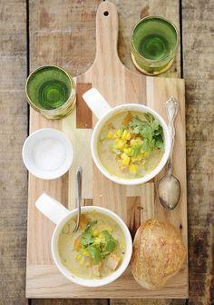 Winter Mexican Corn Soup