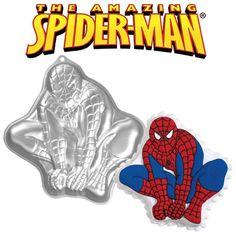 Spiderman cake tin