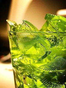 Green Jello. We all know it's the best.