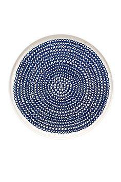 Räsymatto plate by Marimekko