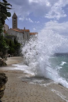 the island of Rab, Croatia