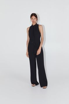 LONG BELTED JUMPSUIT-Long jumpsuits-JUMPSUITS-WOMAN | ZARA United States