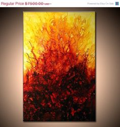on sale Original Modern Abstract Painting by by newwaveartgallery, $6375.00