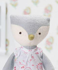 Girl owl doll!