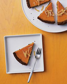 butternut squash and ginger pie
