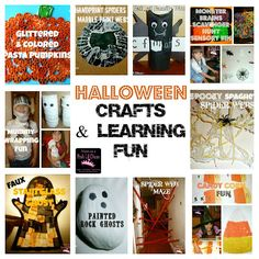 10 fun Halloween crafts & learning activities for kids - which would you do?