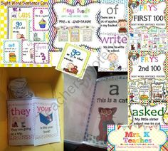 SIGHT WORDS SUPER MEGA BUNDLE(OVER 400 PAGES) from Kadeen Whitby Shop on TeachersNotebook.com -  (401 pages)  -     YOU WILL NOT REGRET PURCHASING THIS MEGA BUNDLE!  EVERY POSSIBLE SIGHT WORD SET I HAVE IN MY STORE IS INCLUDED AT A DISCOUNTED PRICE. YOU BASICALLY ARE GETTING AN ITEM WORTH OVER $34.00 FOR A DISCOUNTED PRICE OF 29.99 THAT MEANS YOU GET 1 SET FREE!! T