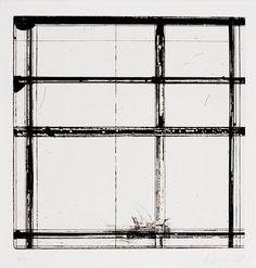 "Brice Marden, ""Tile 1"" (1979)   print   etching    Source: http://www.sfmoma.org/explore/collection/artwork/2552#ixzz1jCDimaOK   San Francisco Museum of Modern Art"