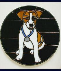 beagle dog window