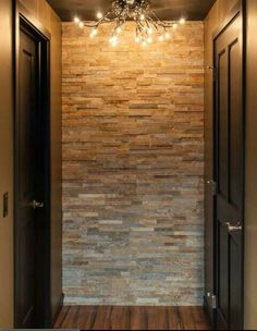Mens and Womens basement back hall bathroom idea