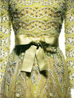 Marc Bohan for Christian Dior, 1972. Cigaline embroidered by Lesage. Photo: Laziz Hamani.
