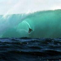 Alex Gray Surfing Giant Teahupoo and Cloudbreak