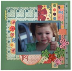 Try Something New... - Scrapbook.com - #scrapbooking #layouts